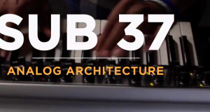 Moog Preps For Sub 37 Release With This ANALOG ARCHITECTURE Video